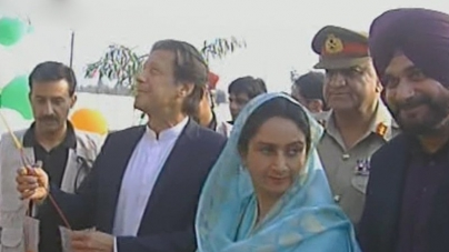 PM Imran performs ground-breaking of Kartarpur Corridor