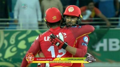 Islamabad United beat Lahore Qalandars by 5 wickets