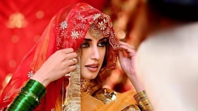 Pakistani Model Iman Ali Ties the Knot