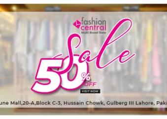 Fashion Central Multi Brand Store offers Grand Sale