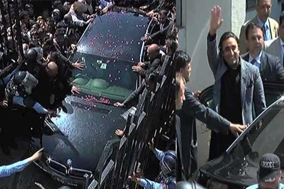 NAB interrogates Asif Zardari, Bilawal in three cases
