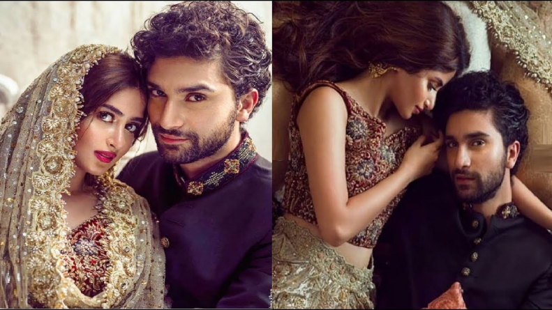Ahad Raza Mir, Sajal Aly nominated for best couple by BizAsia