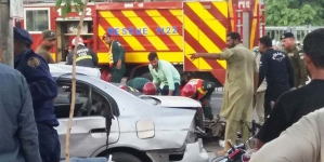 Three dead, scores injured in blast outside Data Darbar in Lahore