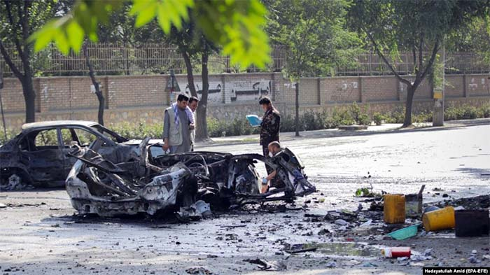 At least eight killed in blast near Kabul University