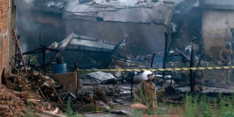 17 Lives Lost as Army Plane on Routine Patrol Crashes near Mora Kalu Rawalpindi