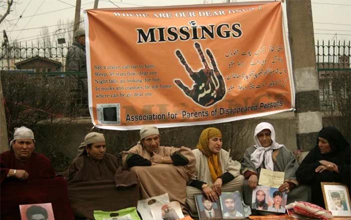 Indian Systematic Enforced Disappearance of Kashmiris, A Crime Against Humanity