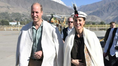 British Royal couple reach Chitral valley