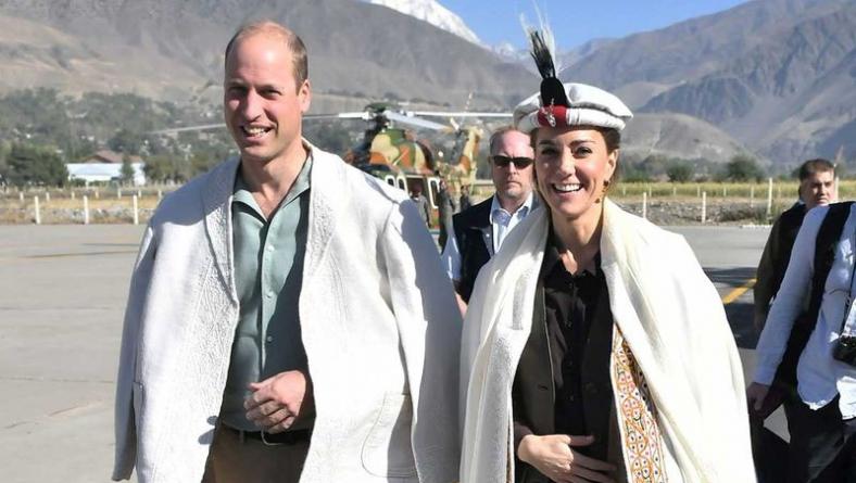 British Royal couple reach Chitral valley