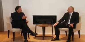 President of Azerbaijan, PM Khan discuss Kashmir issue