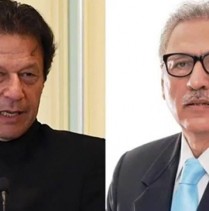 President Alvi, PM Imran reiterate Pakistan's support on Kashmir Solidarity Day