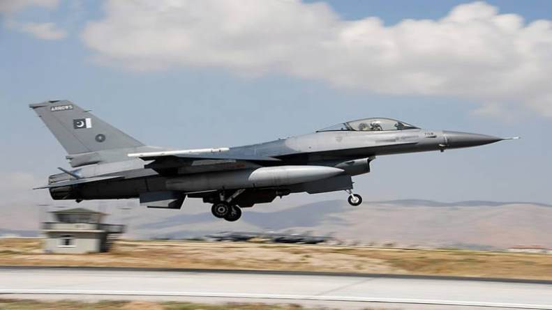 PAF F-16 Fighter Crashes Near Islamabad
