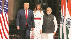 TRUMP'S VISIT INDIA