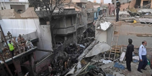 Federal Govt announces Compensation for Karachi Crash Victims