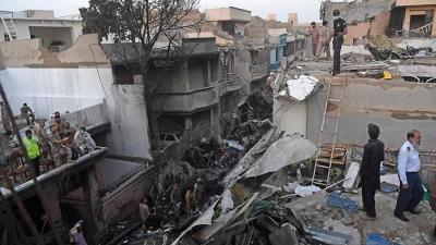 Federal Govt announces Compensation for Karachi Crash Victims