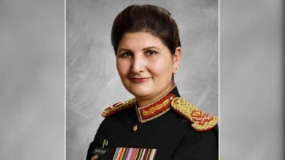 Nigar Johar becomes first female Lt Gen of Pakistan Army