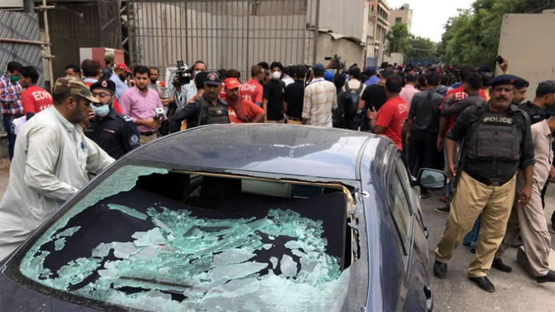 Four Terrorists Killed as Security Forces Foil Pakistan Stock Exchange Terror Attack
