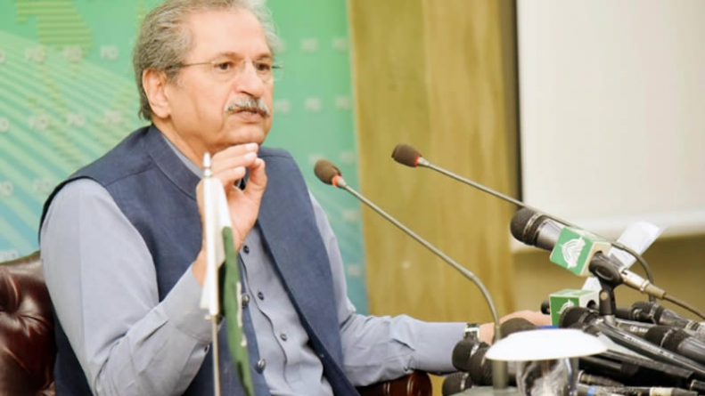 Academic activities for classes 9-12 resumed in COVID-hit areas: Shafqat Mahmood