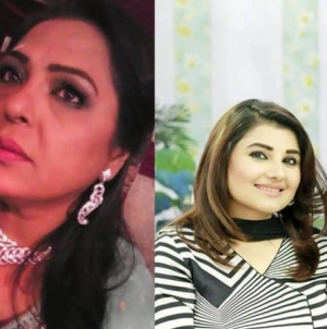 Actress Salma Zafar Thrashes Javeria & Saud Over Non-Payment