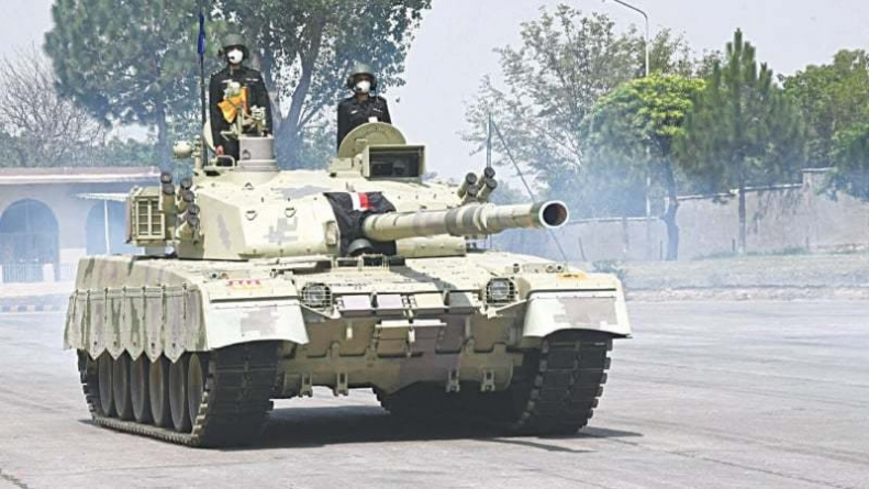Al Khalid-I Tank Inducted in Armoured Corps Regiment