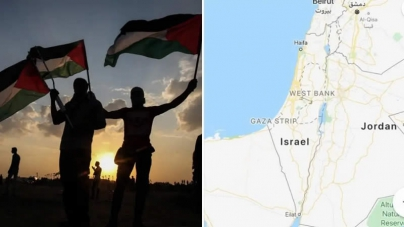 Google-Apple Remove Palestine From World Maps, Replace With Israel