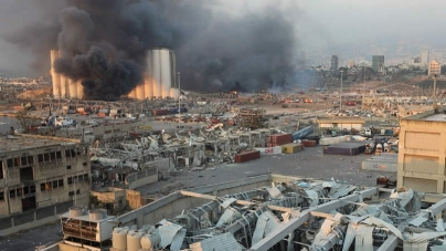 Massive Blast Sends Seismic Shock Across Beirut