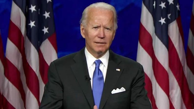 DNC 2020: Biden vows to end Trump's 'season of darkness'