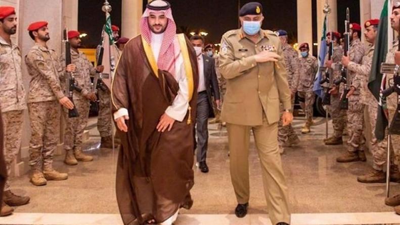 COAS holds military-to-military talks in Riyadh
