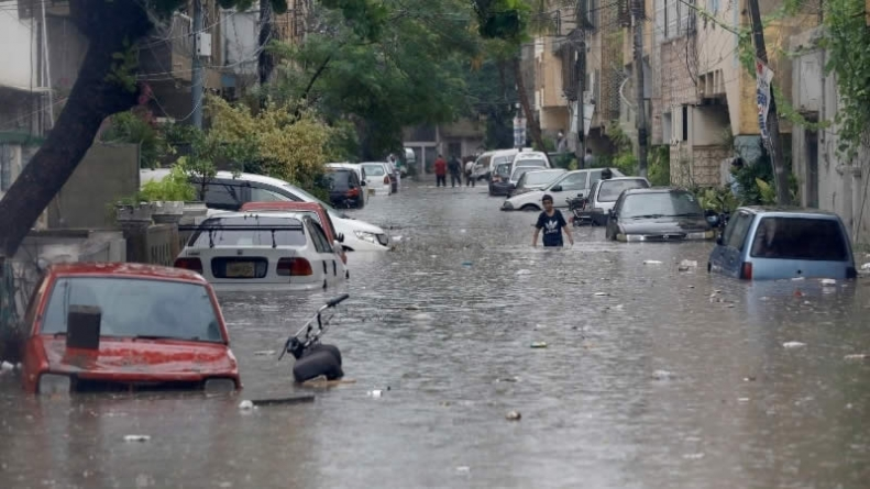At least 18 Die as Record-breaking Rainfall sinks Karachi Again