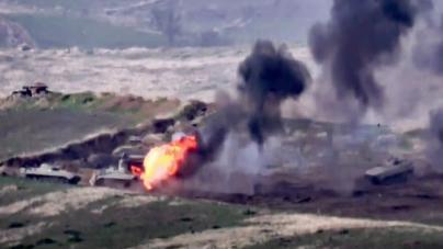 Fighting erupts between Azerbaijan, Armenia over Nagorno-Karabakh