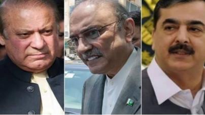 Zardari Indicted, Nawaz Declared Proclaimed Offender in Toshakhana Reference
