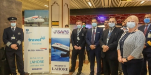 British Airways Flight Lands in Lahore after Four-decade Hiatus