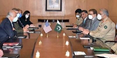 Khalilzad Meets COAS Amid Push for Afghan Truce