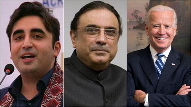Bilawal, Zardari Invited to Biden's Inauguration