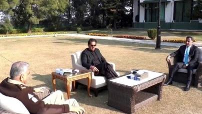 COAS, ISI chief meet PM as Biden Administration reviews Afghan Peace Deal