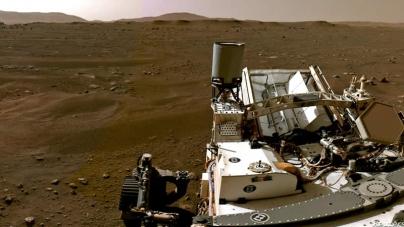 Nasa Releases Mars Landing Video, Calls it 'stuff of dreams'