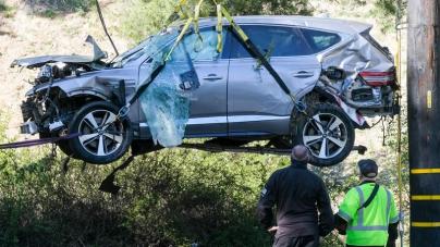 Tiger Woods had Serious Leg Injuries after high-speed Crash