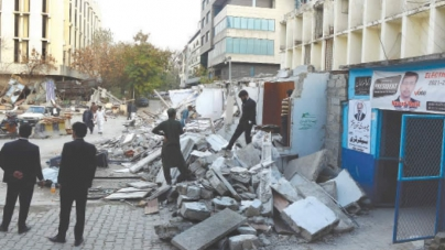 Supreme Court orders Demolition of illegal Chambers of Islamabad Lawyers