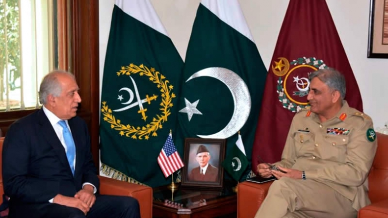 U.S. special Envoy meets Army Chief to Discuss Afghan Peace Steps