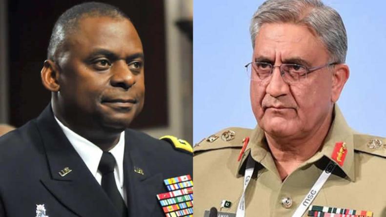 COAS Bajwa, US Defense Secretary discuss drawdown in Afghanistan