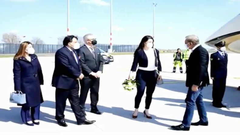 FM arrives in Berlin on two-day official visit