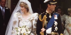 William and Harry allow Diana's wedding dress to go on display at Kensington Palace