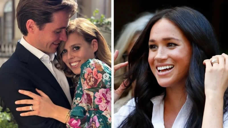 What Meghan Markle, Princess Beatrice's engagement rings have in common