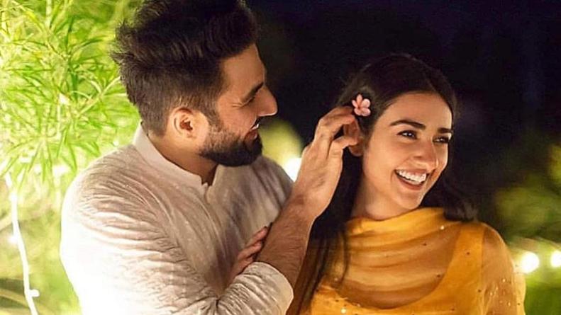 Falak Shabir's post has fans wondering if Sarah Khan's pregnant