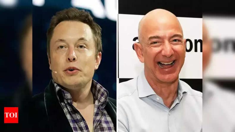 Tesla chief Musk trolls Amazon's Bezos