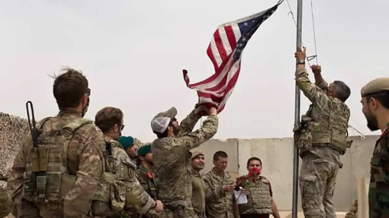 Thousands of Afghans flee fighting as US begins pullout