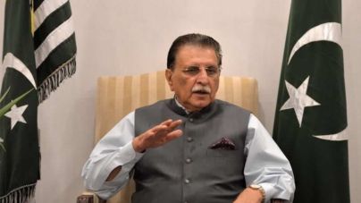 Haider warns against putting AJK polls on hold