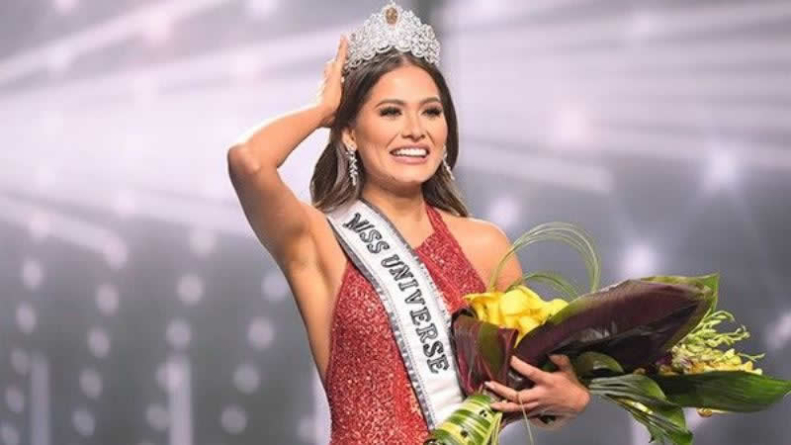 Miss Mexico crowned Miss Universe 2021