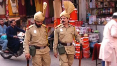 Kotwals are Roaming the Streets of Lahore once again