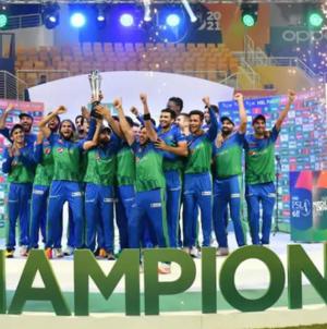Multan Sultans beat Peshawar Zalmi to win Maiden PSL Title