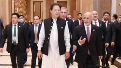 PM Imran tells Ashraf Ghani unfair to Blame Pakistan for Afghanistan Situation